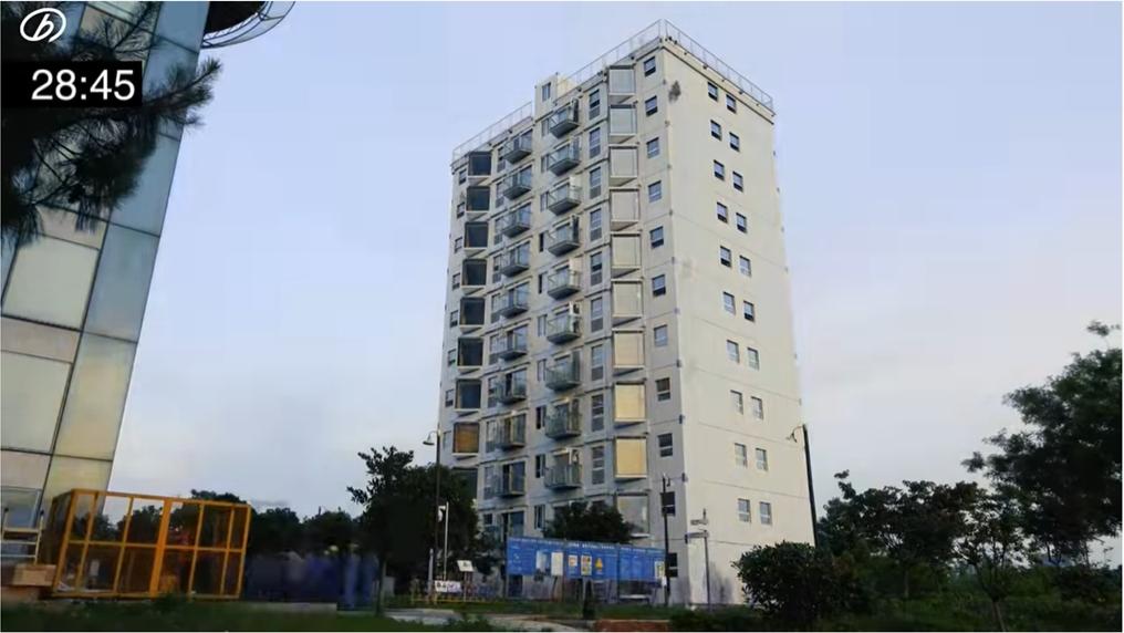 中國28小時神速蓋好10層樓公寓!外媒傻眼報導讓小粉紅自信到高潮