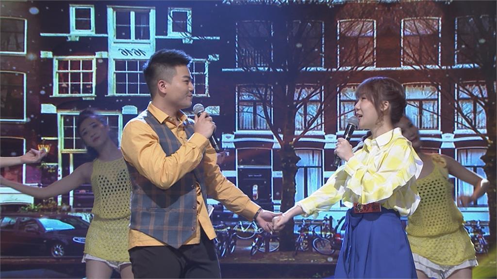 《台灣那麼旺》臉紅心跳親吻、深情對看!高手組充滿粉紅泡泡洋溢幸福