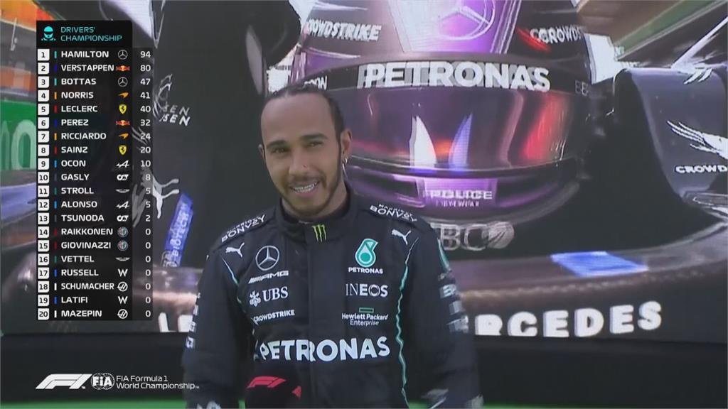 漢米爾頓第98座分站冠軍 挑戰F1「雙一百」紀錄
