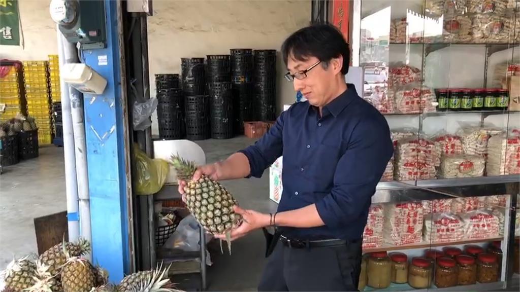 企業認購潮!日籍拉麵店老闆:點拉麵送鳳梨!台電職工認購6萬顆 每個台電人吃2顆鳳梨