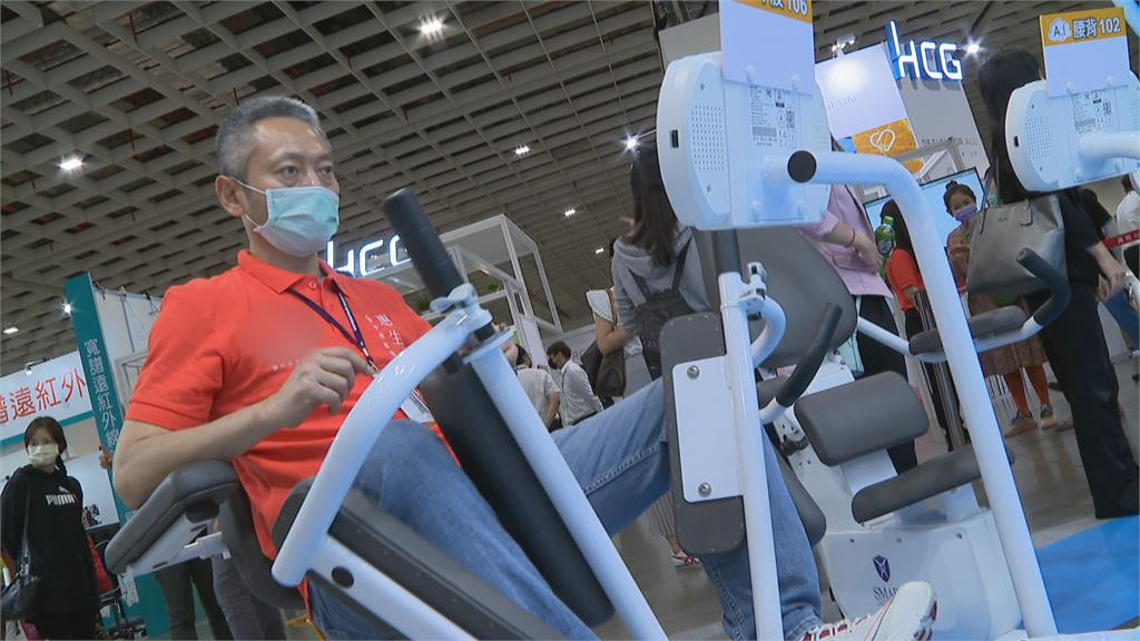 「智慧樂齡照護創新」為主軸 2000款輔具設備展出
