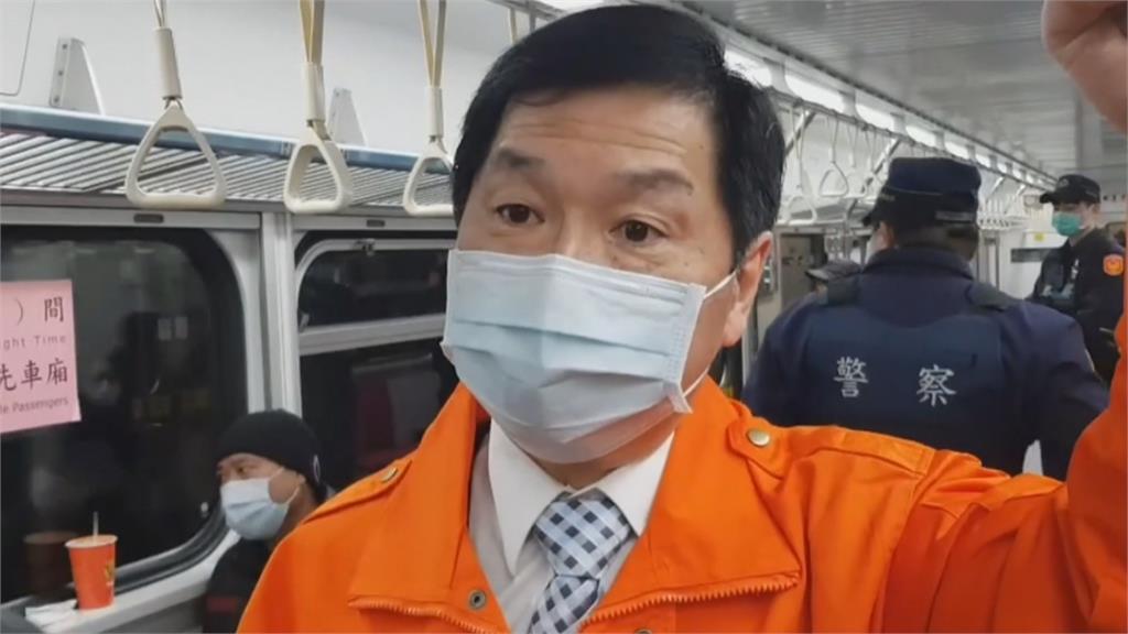 坍方61天日夜搶修 瑞芳猴硐段全線搶通 台鐵代理局長親搭首班車