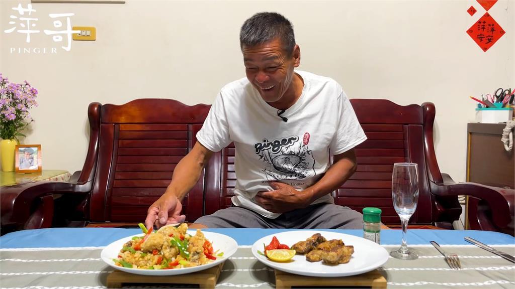 比中國之光李子柒更真!台灣野味阿伯秀「食」力眾網驚:太好看了
