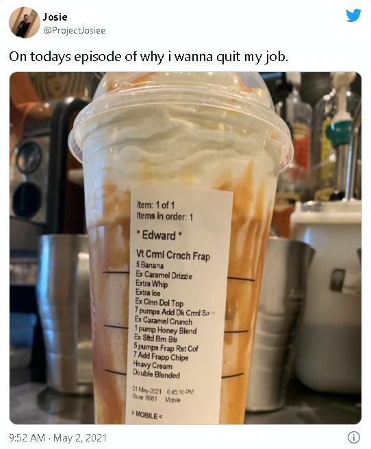 落落長!星巴克店員收「13項要求」清單想離職 同業支援:我的更多項!
