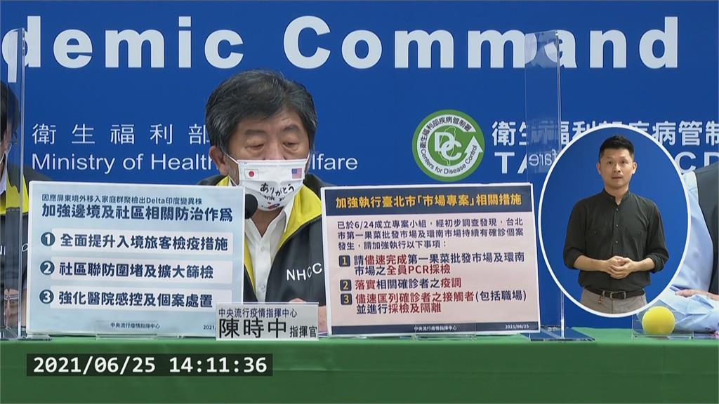 雙陳二度視察北農陳時中籲全員PCR 打臉柯P「暴力解決」