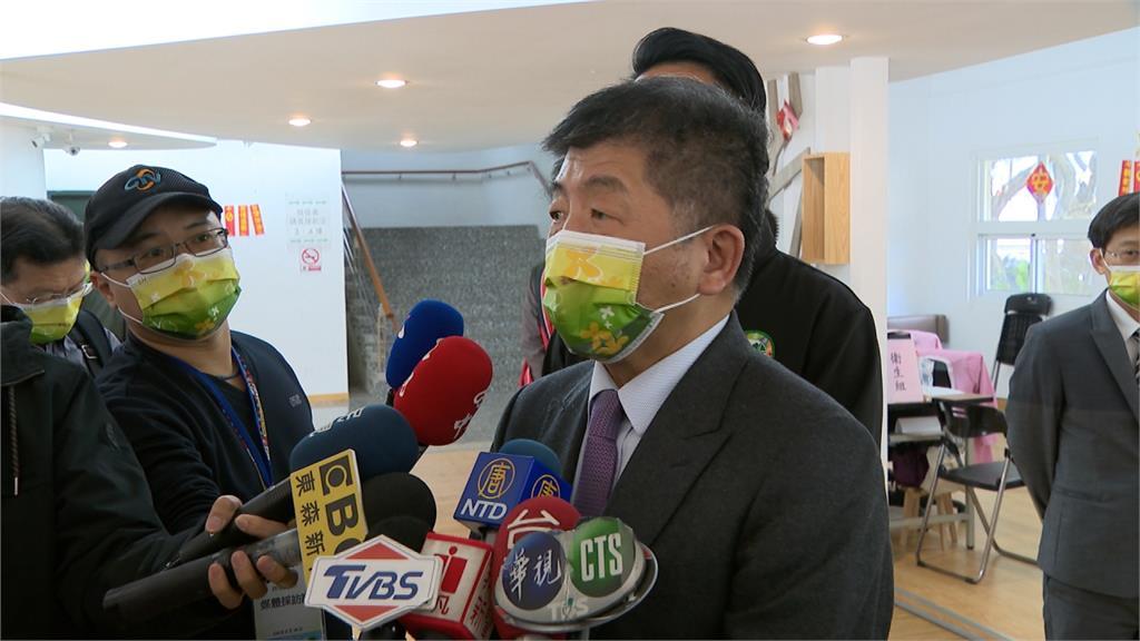 談中國疫苗未列台候選 陳時中:技術資料不完備