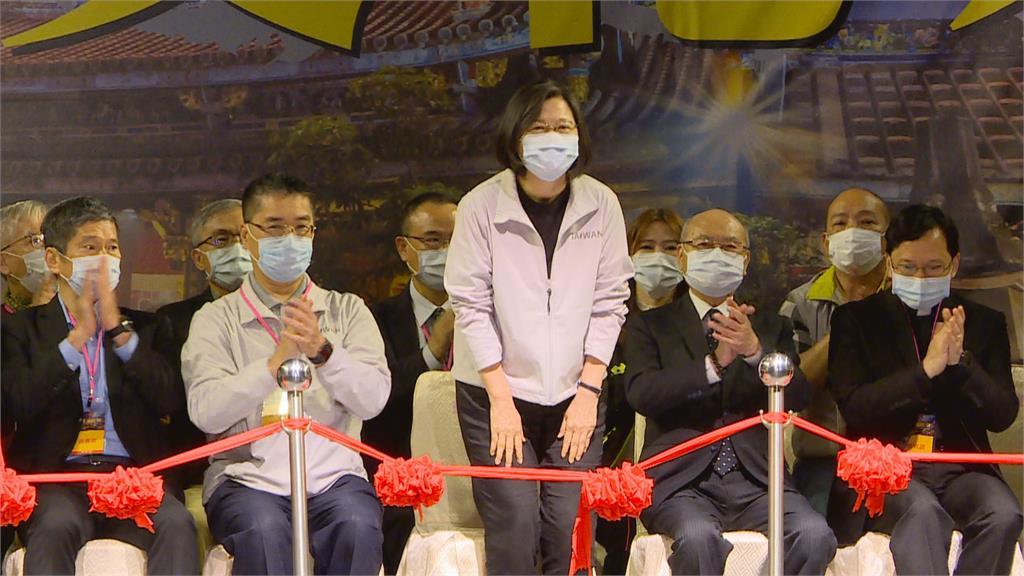 大龍峒保安宮文化祭 總統剪綵祈求國泰民安