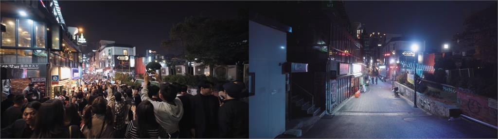 武漢肺炎肆虐!梨泰院、東大門靜悄悄 韓網紅讚台灣厲害到不正常