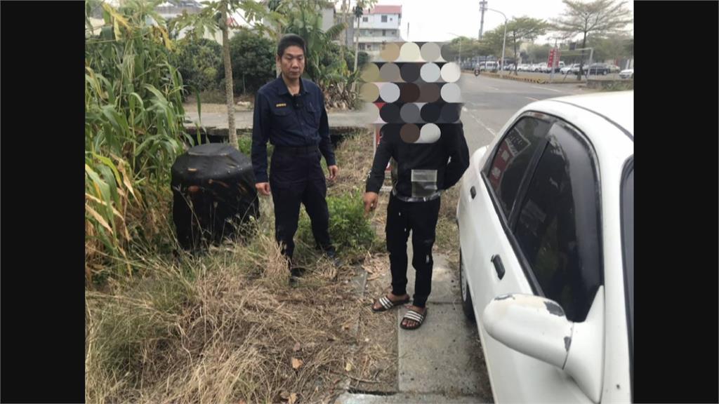 鎖定偏僻地點 嫌犯一夜破壞5車行竊警眼尖靠外套圖騰破案