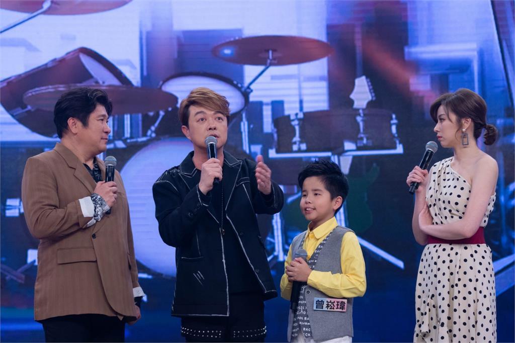 《台灣那麼旺》打造全明星般氣質全收視第一!翁立友圓夢助陣10歲小歌手曾崧瑋創下最高收視