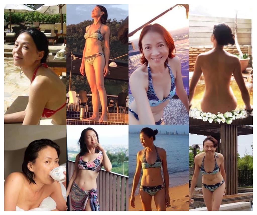 辣曬裸體沒在怕!53歲女星「清涼8宮格」系列曝 網嗨:無限期支持不穿
