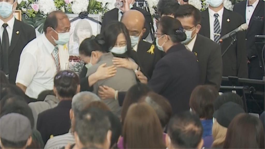 太魯閣號事故公祭典禮 蔡總統親出席場面哀悽