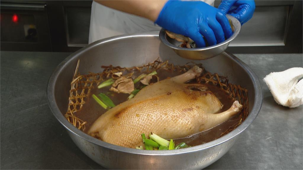 功夫菜「碌鵝」美味重現! 油脂均勻、皮薄肉嫩