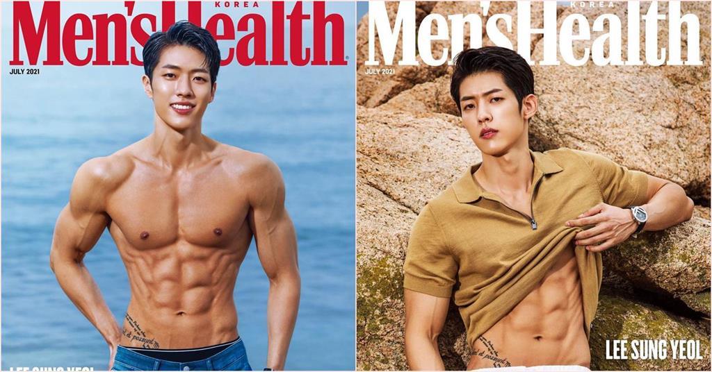 INFINITE成烈「弱雞變肌肉男」 超狂胸腹肌登健身雜誌封面