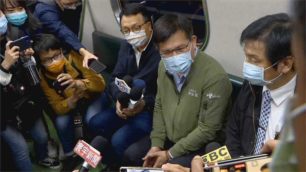 快新聞/花蓮清水隧道「正式通車」!林佳龍:希望親自搭乘 重建台鐵形象