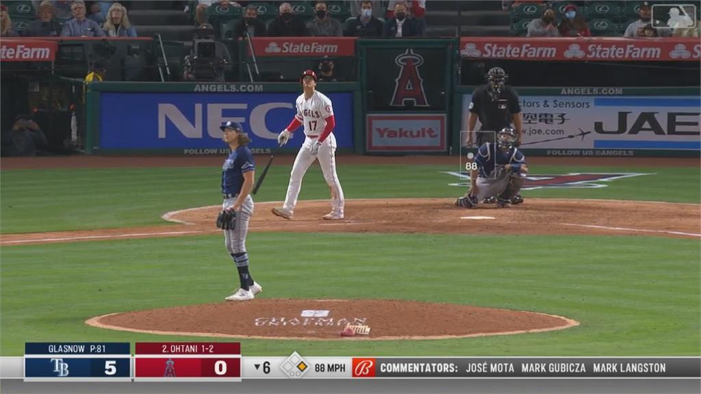 沒投球變身打者 大谷第九轟並列全壘打王