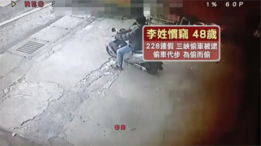 9小時狂偷七部機車代步...賊自稱「孫悟空」難逃警察「五指山」