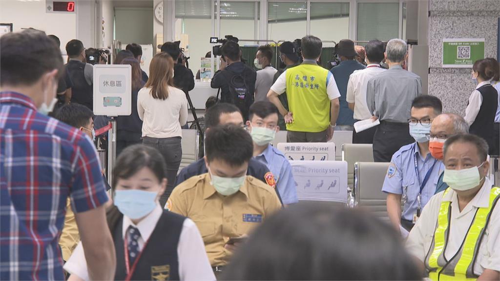 高雄小港機場設疫苗站  首日報名接種只有80人