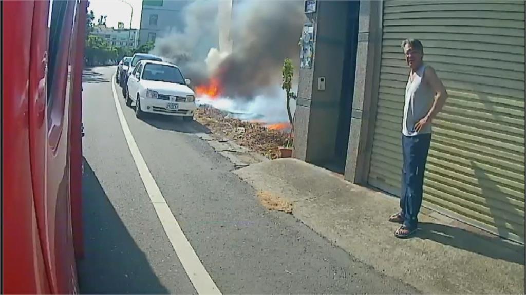 天乾物燥!台中大里民宅火警延燒3戶 彰化和美雜草火警燒毀2休旅車