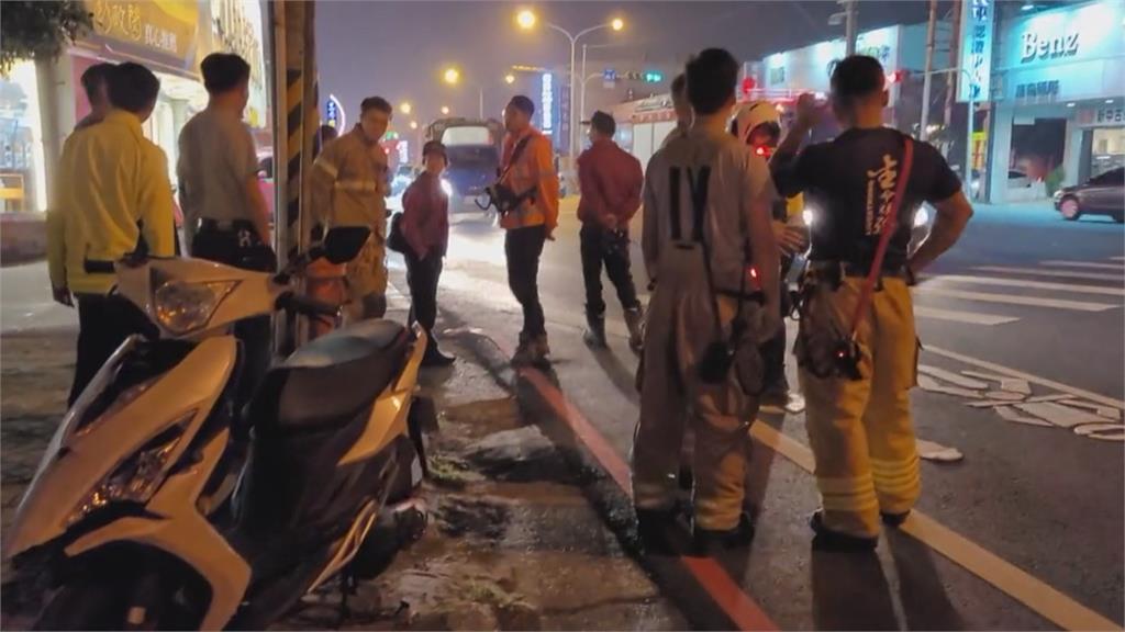 疑騎車戴耳機 女騎士沒聽到消防車警鳴遭撞騎車戴耳機聽音樂降低反應力 日本特別取締