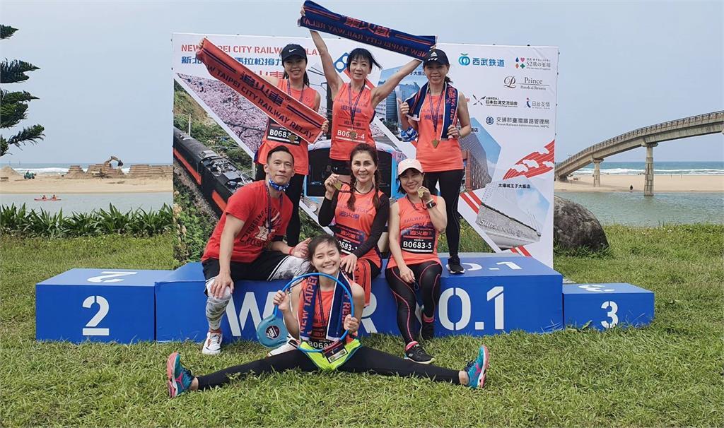 新北鐵道馬拉松接力 6千人組隊參賽全長51公里!東北角美麗風光盡收眼底