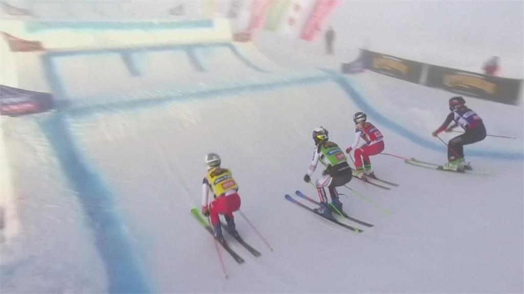 世界盃自由式滑雪遇濃霧難度提高、戰況刺激