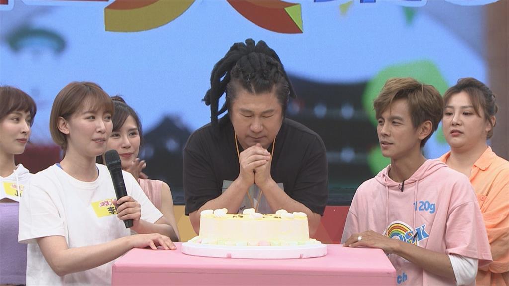 《綜藝大集合》綜藝大哥胡瓜慶生「徒孫」籃籃超「狠」!生日願望為全台祈福