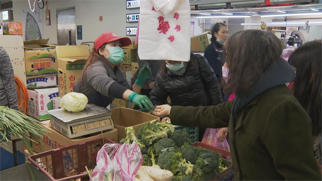寒流侵襲菜價飆 絲瓜.花椰菜漲幅達5成