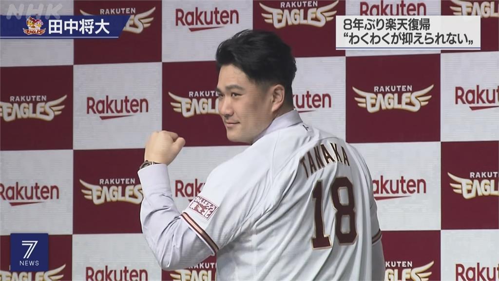 日本國家隊公布24人名單 名投田中將大入列