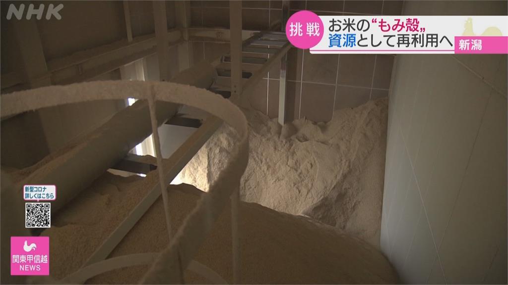 稻殼再利用「稻殼炭」協助氫氣動力車開發