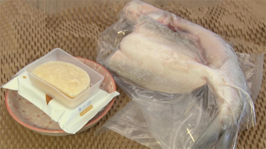 米白色薄餅味道竟是虱目魚湯!台南虱目魚變身「太空食物」