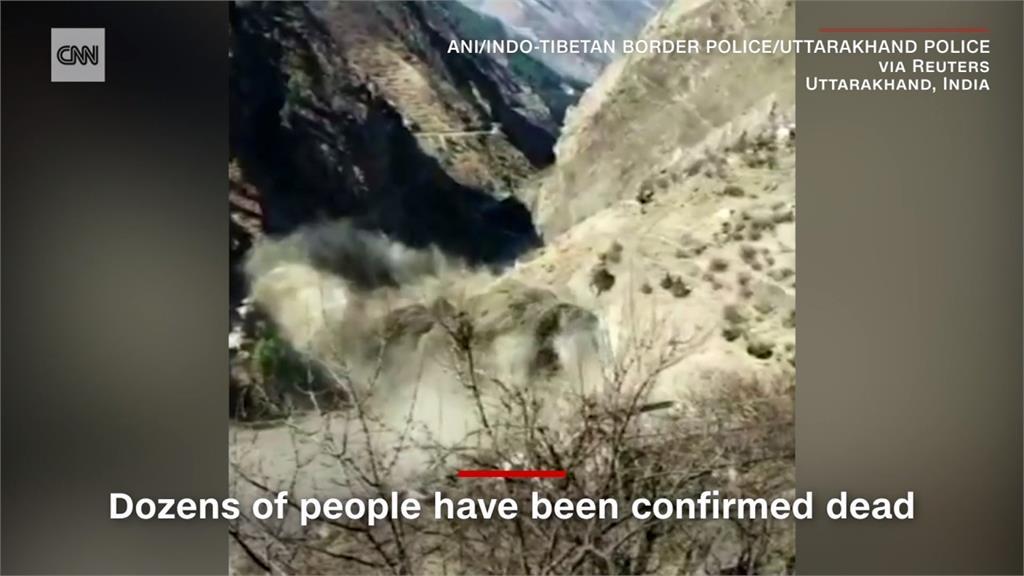 全球/印度冰河崩裂釀百人失蹤!神秘核武設備成禍首?