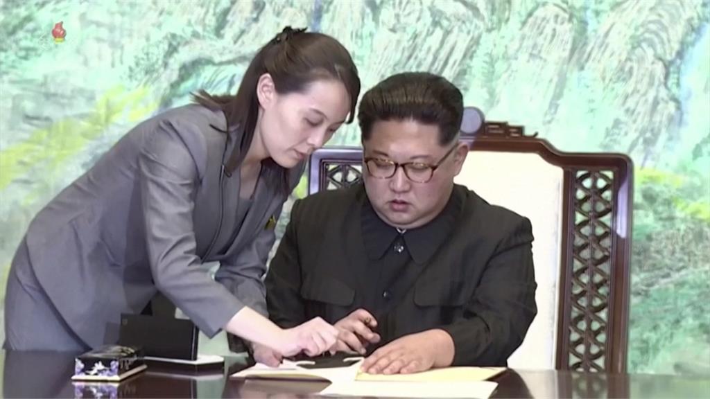 快新聞/金正恩獲舉為勞動黨總書記 其妹金與正則未「更上層樓」