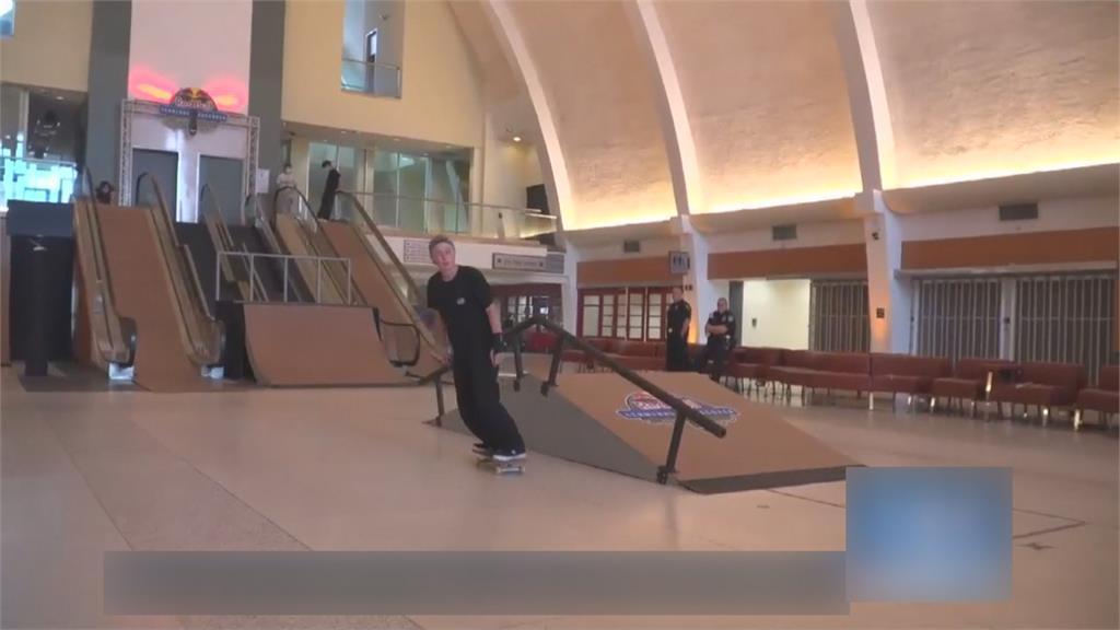 紐奧良空曠廢機場 搖身一變成極限滑板場!
