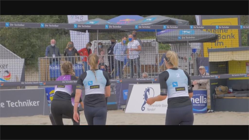 沙排世界巡迴賽卡達站 女將抗議禁穿比基尼