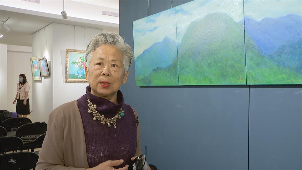 為台灣藝術家打通國際道路 知名畫作同步展銷