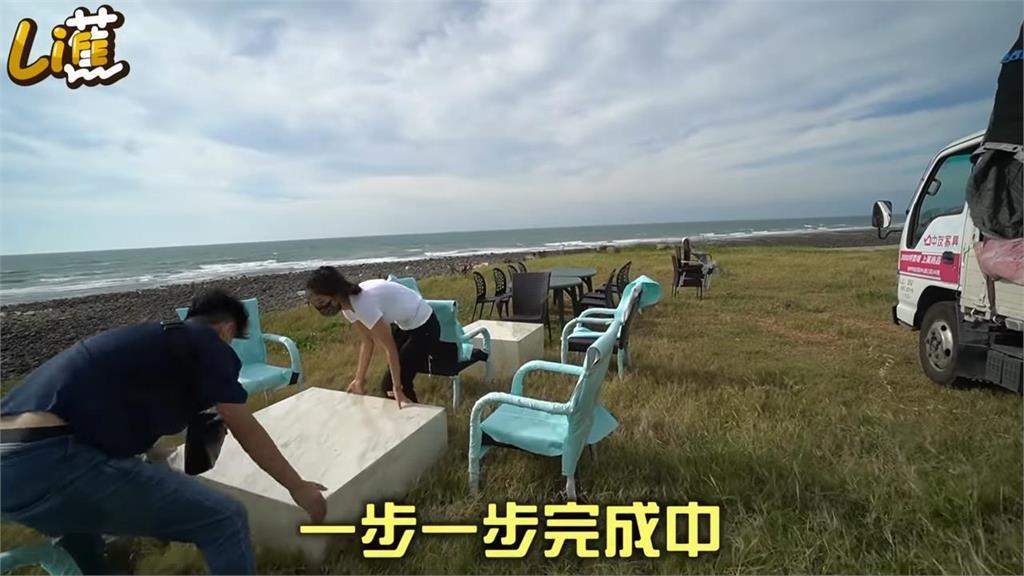 超有愛!男星為浪浪打造「戶外海景樂園」 網感動:大善人
