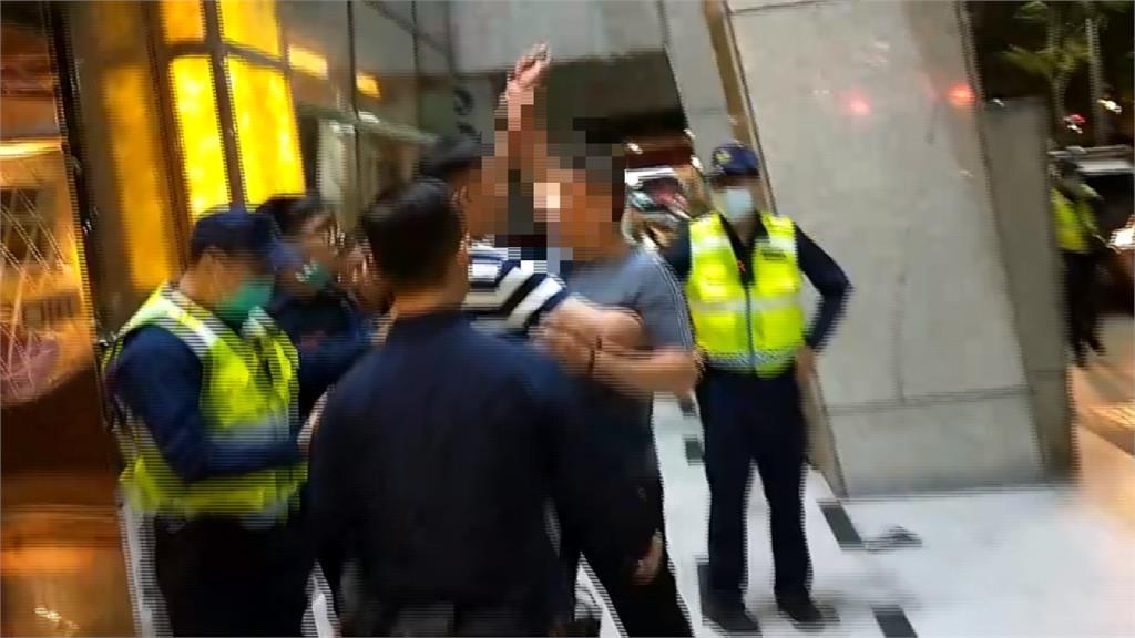 凌晨KTV傳民眾酒後衝突 警快打部隊迅速到場