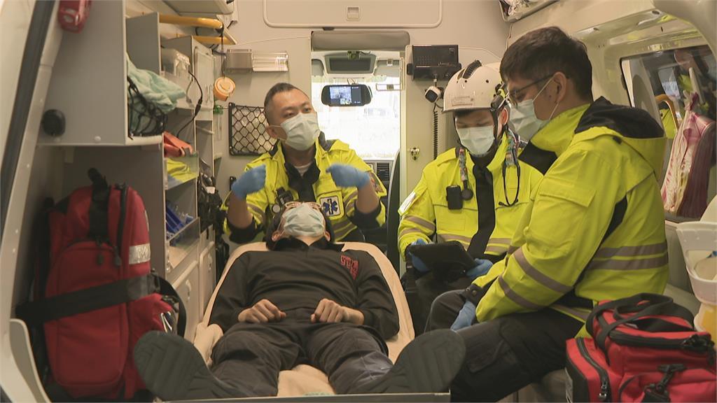 救人命再早一步!消防局啟動MER小組「雲端救護急診室」救援更有效率