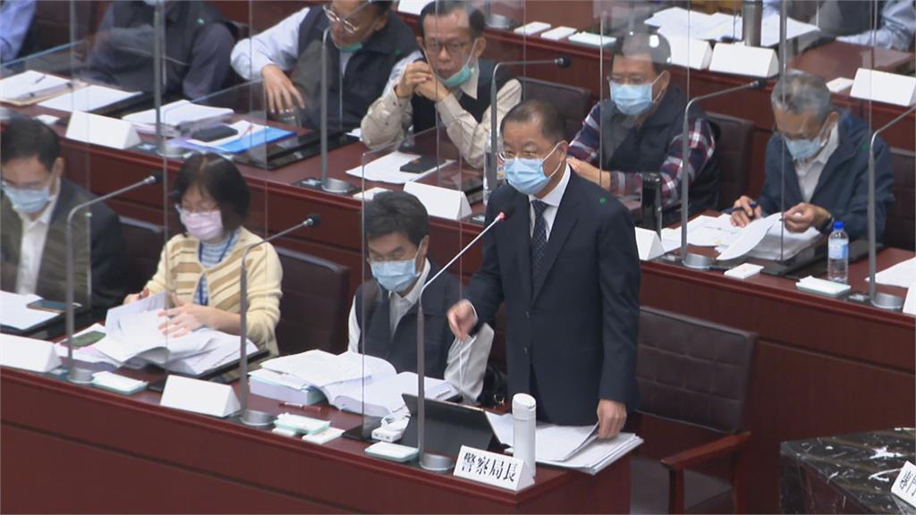 黃明昭列席高雄預算聯席會 議員輪番考驗