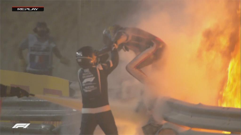 去年重大意外 F1格羅斯讓轉戰印地賽車