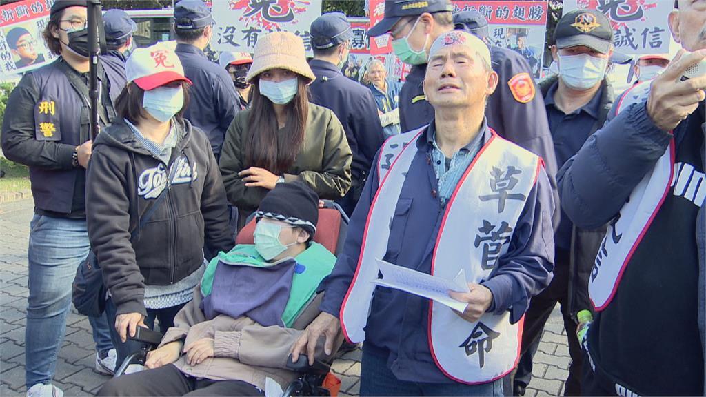 工程師車禍手術後失明成植物人 家屬抗議新店慈濟醫院